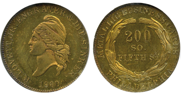 lovett-1860-token