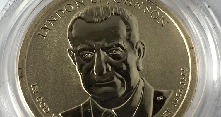 Lyndon B. Johnson Coin and Chronicles Set sells out in hours