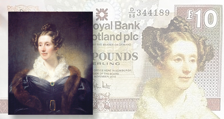 Astronomer Mary Somerville to star on a Scottish £10 note to be issued in 2017
