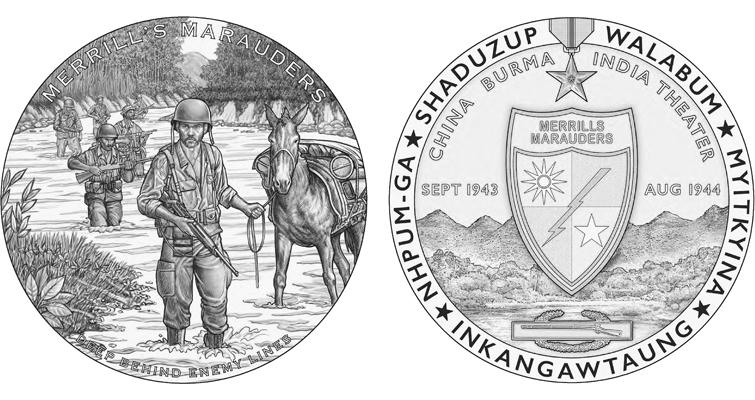 Merrill's Marauders medal