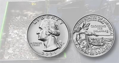 Coin production for circulation