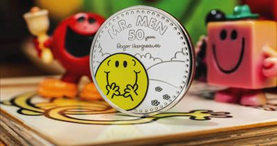 Mr. Men commemorative coin