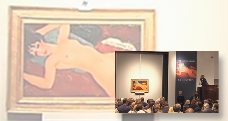 Modigliani painting brings $170.4 million