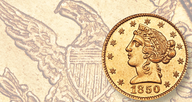 Privately struck coin, 'historic reminder' of Gold Rush, dazzles at Twelve Oaks sale