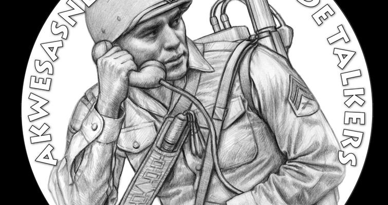 Proposed U.S. Mint designs: St. Regis Mohawk Code Talkers congressional gold medal