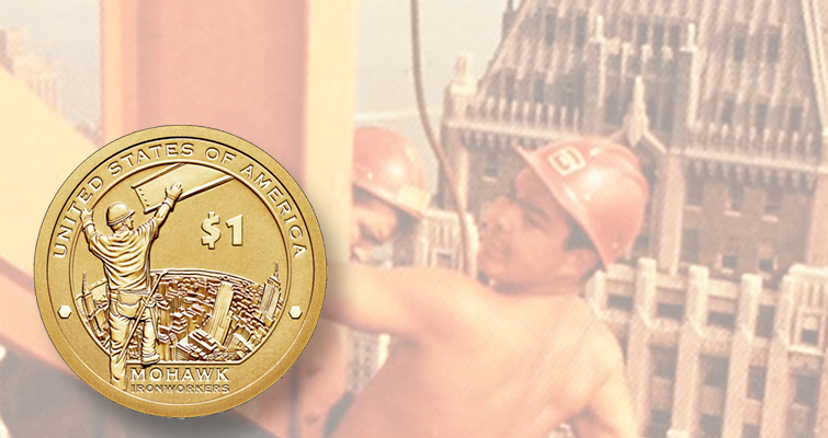 Mohawk Ironworkers Native American Dollar