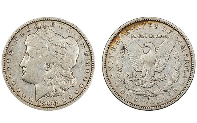 Specialists identify counterfeit 1900-O/CC Morgan dollar with links