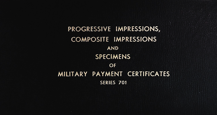 Paymaster Collection of military payment certificates
