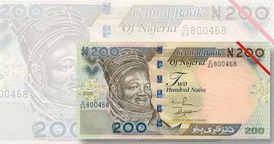 Nigeria naira note