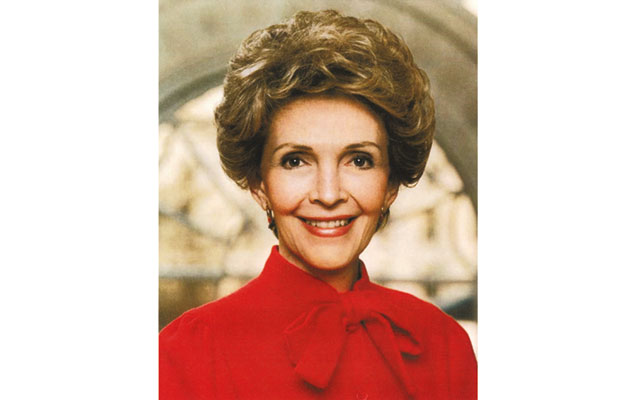 Nancy Reagan would be the first living person on a U.S. coin since 1995