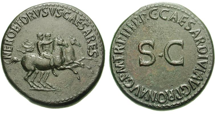 nero-drusus-caesar-bronze-dupondius-ad-39