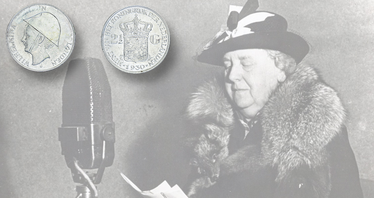 Wartime folk art appears on Dutch silver coin in Karel de Geus auction