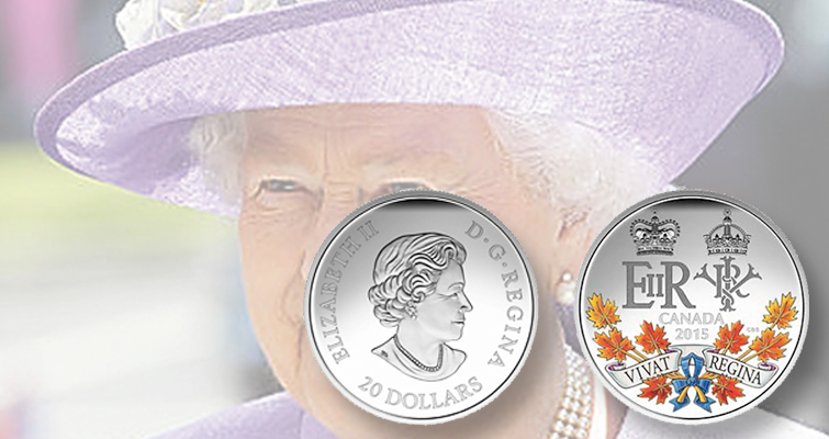 Queen Elizabeth on Canadian coins