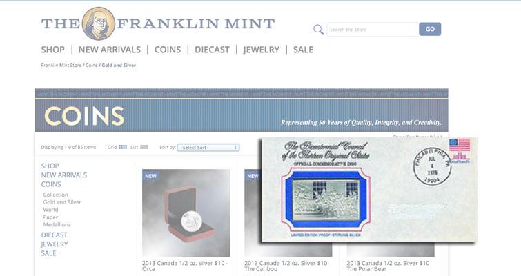 Franklin Silver Ingots