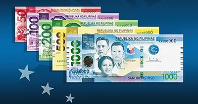 New notes for Philippines