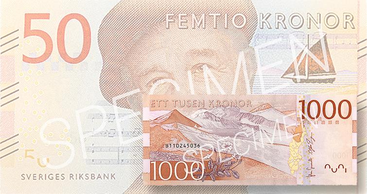 Sweden's notes get new printer