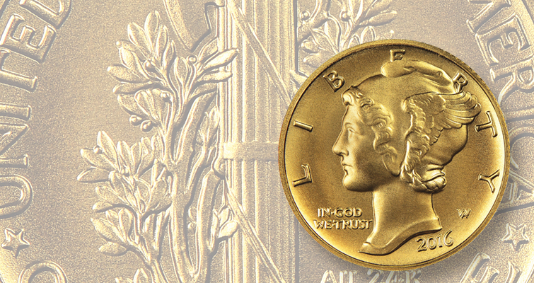 U.S. Mint officials awaiting decision on distribution of unsold gold dimes