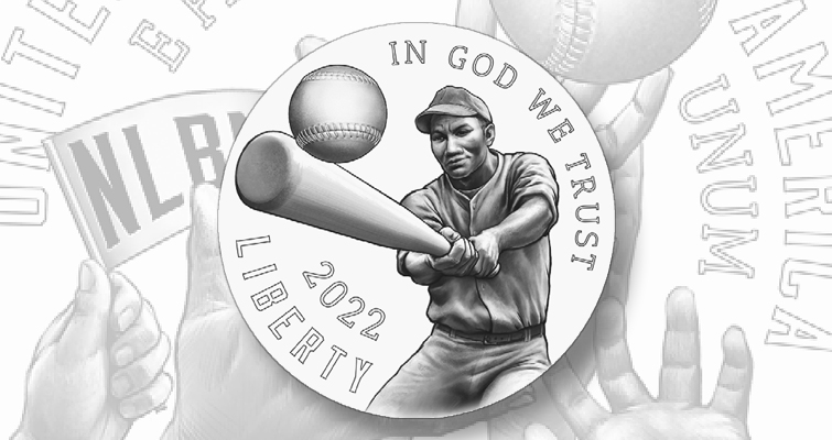 Negro Baseball League Centennial silver dollar
