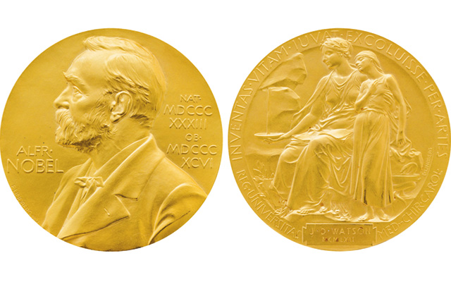 $4.76 million hammer price for DNA researcher's Nobel Prize medal