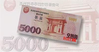 North Korea voucher