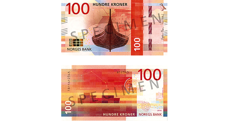 new Bank of Norway notes for 2017
