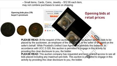 Online Coin Auctions