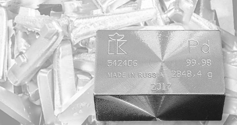 Palladium Bullion Trading Above Platinum Coin World
