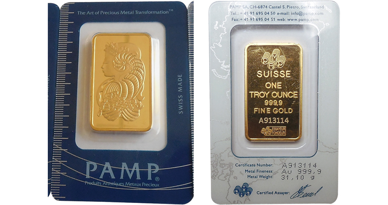 PAMP counterfeit gold merged