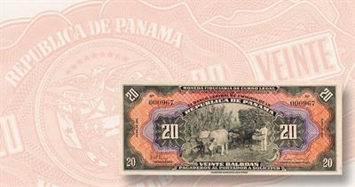 1941 Panama 20 balboa