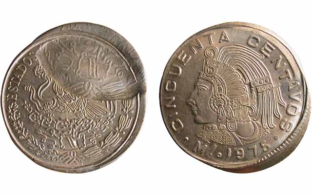 Diagnosis clears after study of 1975 50-centavo coin: Collectors' Clearinghouse