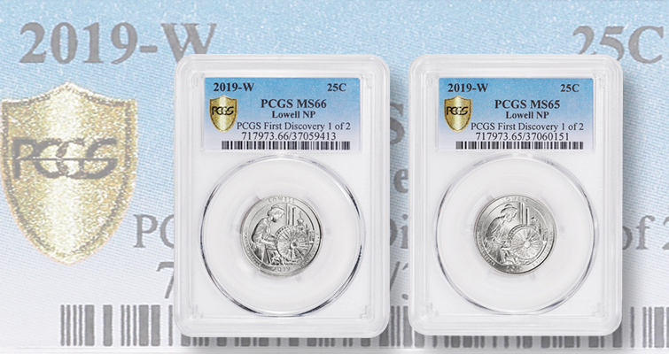PDS QTRS; BU//MS; Fresh From U.S Mint; 1 From Each Mint PDS 2018 Coins