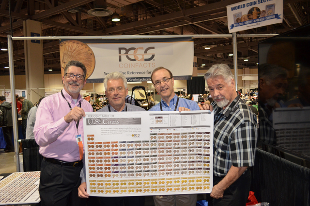 PCGS to offer 'Periodic Table of U.S. Coins' posters at four major shows