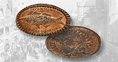 Pike Souvenir elongated cent