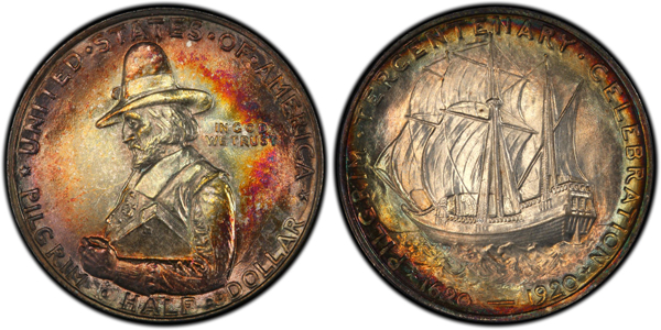 The Pilgrim Tercentenary half dollar was a two-year issue produced in 1920 and 1921.