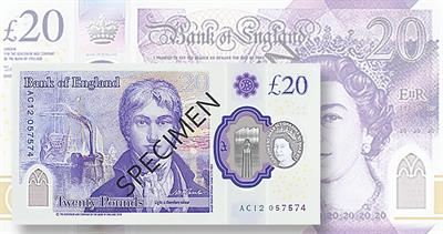 Bank of England polymer note