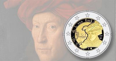 Belgium 2-euro coin