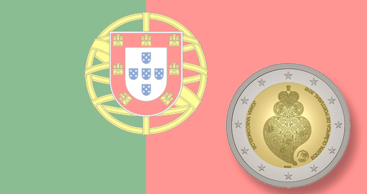 Portugal celebrates 2016 Olympic Games with ringed-bimetallic €2 coin