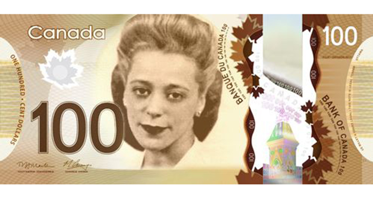 Canada will honor one of its civil rights pioneers on its next $10 note