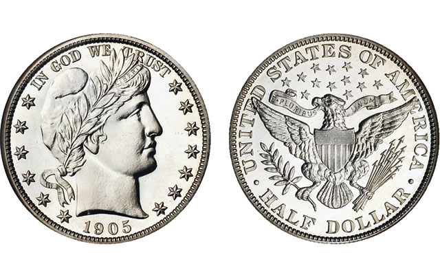 Recalling the 1892 to 1916 silver coins designed by Mint Engraver Charles Barber