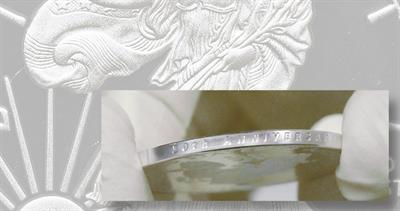 Proof 2016-W American Eagle silver dollar