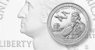 Proof 2020-S Tuskegee Airman quarter