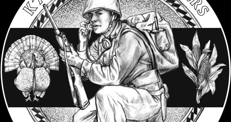 Proposed U.S. Mint designs: Pueblo of Laguna Code Talkers congressional gold medal