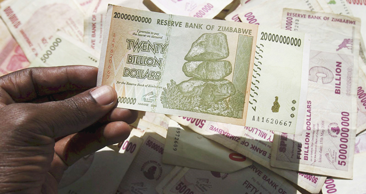 Reserve Bank of Zimbabwe to print its own version of U.S. dollar