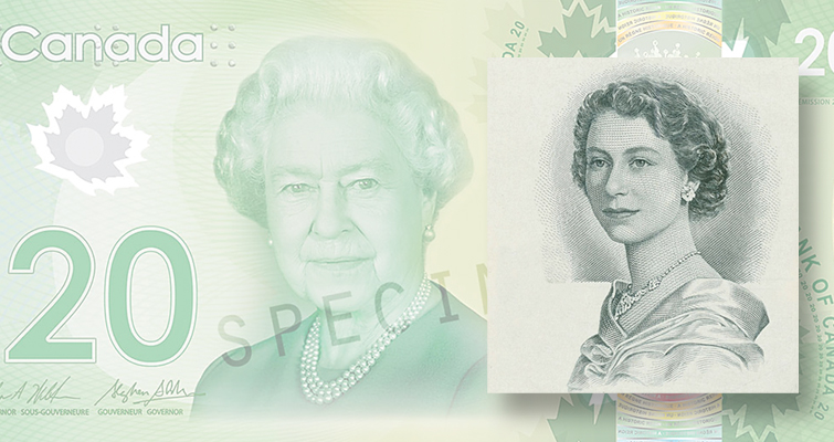 Celebrate Queen Elizabeth's reign with this Bank of Canada $20 note