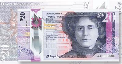 Royal Bank of Scotland 20-pound note