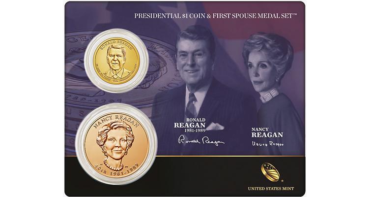 reagan-coin-medal-set