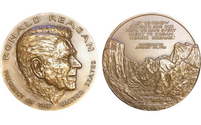 Ex chief engraver remembers President Reagan's medal