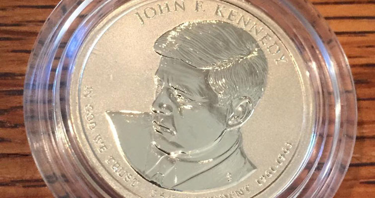 Here's what the Reverse Proof JFK Presidential dollar looks like: Something Social
