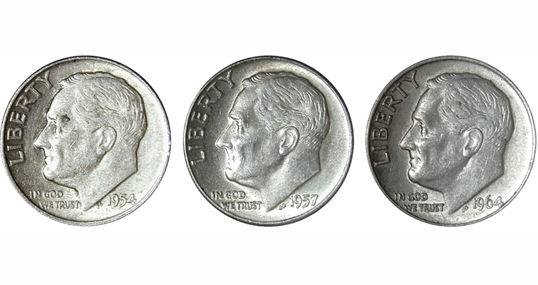 roosevelt-silver-dime-obverses-merged