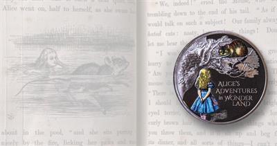 Royal Mint Alice in Wonderland